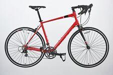 Challenge Plus CLR 0.1 54cm Alloy Frame Road Bike - Red.