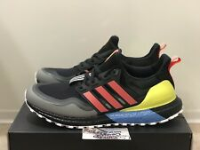 Adidas Ultra Boost All Terrain Running Black Red Yellow EG8097 Yeezy Mens Size