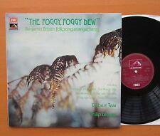 HQS 1341 The Foggy Foggy Dew Britten Folk Songs Robert Tear NEAR MINT + insert
