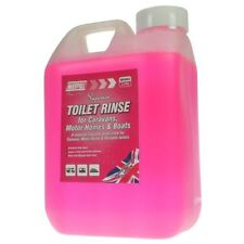 2 Litre Pink Toilet Rinse Chemical Caravan Camping Portable Motorhome Boat Cheap