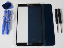 SAMSUNG GALAXY NOTE 3 N9000 N9005 FRONT GLAS SCHEIBE TOUCHSCREEN DISPLAY SCHWARZ