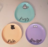 Custom cat dog food dish bowl plate water personalised pastel made to order pet