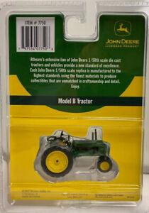 Athearn Diecast John Deere 1:50th O Scale Die Cast Model B Tractor #7750