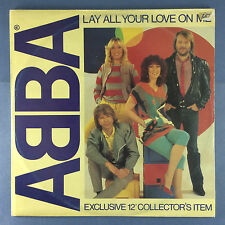 """ABBA - Lay All Your Love On Me - Exclusive 12"""" Collector's Item - EPC-A13-1456"""