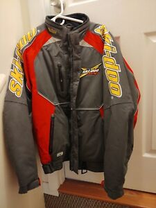 Brand New Skidoo X Team Snowmobile Jacket Coat Snowmobiling Heavy mens large