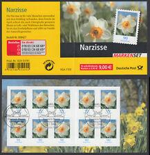 Bund Markenheftchen 61 gest. Blumen 2006 Narzisse Ersttagssonderstempel ESST