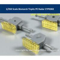 1/350 Scale Bismarck Tirpitz PE Radar for Tamiya 78013 78015 CYPE002