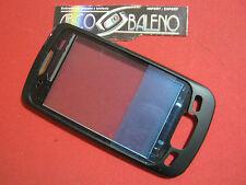RICAMBIO COVER GUSCIO ORIGINALE PER LG OPTIMUS ONE P500 NERO CORNICE DISPLAY