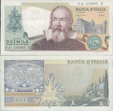 "REPUBBLICA ITALIANA 2.000 LIRE ""GALILEO""  DEC.24/10/1983 F.D.S. A."