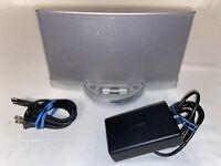 Bose SoundDock Series 2 II Silver Digital Music System Sound Dock *NO REMOTE*