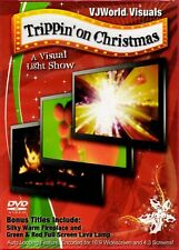 VJWorld Visuals TRIPPIN' ON CHRISTMAS A VIRTUAL LIGHT SHOW HOLIDAY PARTY DVD NEW