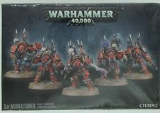 Warhammer 40K Plastic Chaos Terminators 5X 43-19 New Sealed Rare Htf