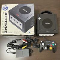 Nintendo Game Cube Black console DOL-001 Free Shipping