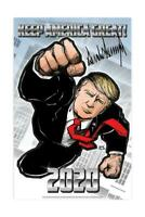 Official Donald Trump Signed Make Keep America Great Again Art Print Poster MAGA