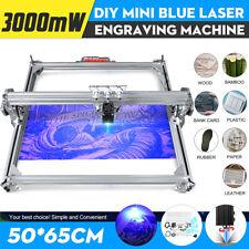 3000MW 65x50cm Laser Engraver Cutter Desktop Engraving Logo Printer Machine DIY