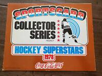 1977-78 COCA COLA COKE RARE HOCKEY CARD ALBUM WITH PARTIAL SET PARK COURNOYER