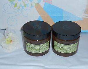 Bath & Body Works Eucalyptus Spearmint Soothing Sugar Scrub 16oz  X 2 NEW