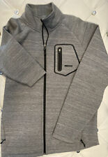 Avalanche Outdoor Apparel Men's Gray Mock Neck Full Zip Jacket Size Medium-EUC!