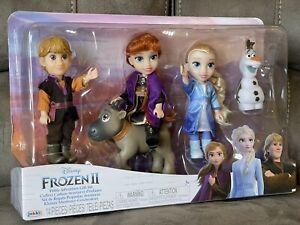 Disney jakks Frozen II ANNA ELSA KRISTOFF petite Princess Doll Come Play With Me