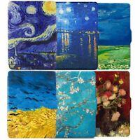 For Kindle Paperwhite 1 2 3 Auto Wake Sleep Magnetic Folio Van Gogh Case Cover