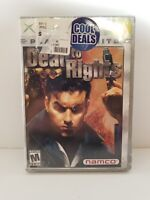 NEW Factory sealed Dead to Rights Platinum Hits (Microsoft Xbox, 2002)