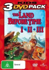 The Land Before Time / Great Valley Adventure / Time of the Great Giving (DVD, 2007)