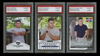 JASSON DOMINGUEZ (2020) 2019 LEAF BASEBALL 1ST GRADED 10 ROOKIE CARD LOT YANKEES