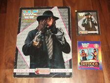 WWF Superstars 1994 near- Complete Merlin Sticker album Rare, with 2 packets!