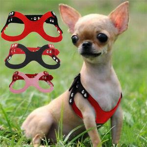 XXXS XXS XS TINY DOG HARNESS VEST FOR TEACUP MINI PUPPY CHIHUAHUA CAT YORKIE