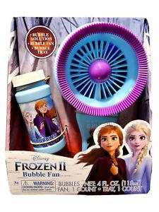 Disney Frozen II Bubble Electric Fan  Elsa Princess  Anna