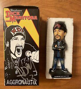 SIGNED Handsome Dick Manitoba Aggronautix Bobblehead dictators punk rock