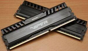 Patriot PV316G186C0K Viper 3 16GB 2x8GB DDR3 PC3-15000 1866MHz Memory RAM