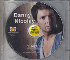 Danny Nicolay-Nee Promo cd single