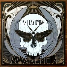 AS I LAY DYING Awakened Ltd Ed Discontinued RARE New Litho Poster Flat! Metal