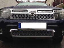 LED Tagfahrlicht L-FORM + R87 Modul E-Prüfzeichen Dacia Duster