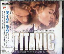 James Horner - TITANIC Soundtrack - Japan OST CD OBI 15Tracks Celine Dion