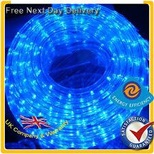 *NEW* 48M BLUE LED Ribbon Strips Rope Lights UK Warranty & VAT Inc 48 Meters