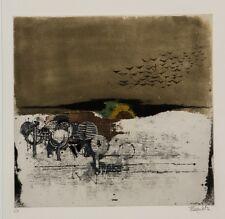 Johnny Friedlaender/Farbradierung/ Sept Paysages 7./ e.a. Exemplar/ von 1973