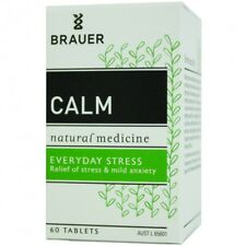 Brauer Nervatona Calm Tablets 60  Relieve Stress, Mild Anxiety, Restlessnes
