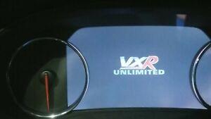 Vauxhall insigniaspeedo dash cluster hidden VXR menus and themes activation