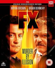 FX Murder by Illusion (1986)       Blu Ray   (Brand New)
