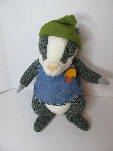 "Hallmark Crayola Storybook Friends Brad Badger Plush 12"" Stuffed"