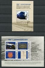 St Vincent Young Island 2013 Eisenbahn Railways Trains Landkarte Map MNH