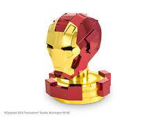 Fascinations 3D Laser Cut Model Kit Marvel Iron Man Helmet Steel Model Figure