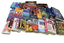 James Patterson random lot of 10 novels, no repeats