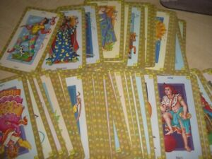 Tarot / Astrological card set - 64 cards, unboxed
