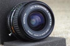 Minolta ROKKOR 28mm f/2.8 Leica M Mount Lens M9 M8 M7 M6 M5 CL Q 240 116 camera