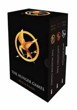 The Hunger Games Boxed Set by Suzanne Collins Paperback Book