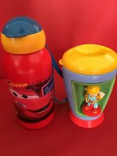 Disney cars bottle bob the builder cup