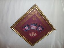 Home Interiors '' Victorian Fan'' Picture Gorgeous 14''x14'&# 039;